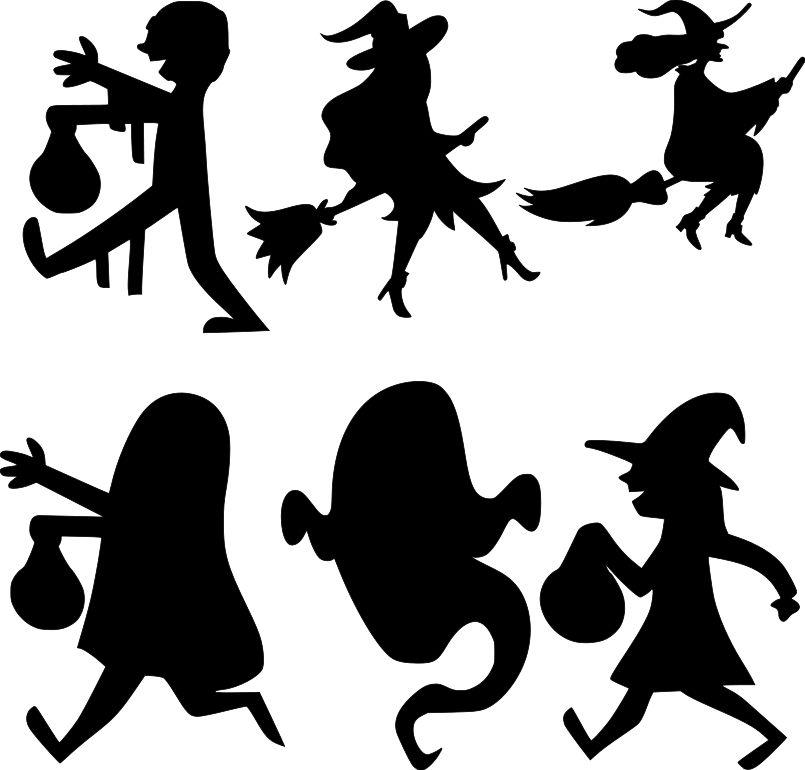 Diy Paper Bag Luminaries Halloween Free Svg Files