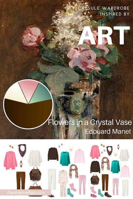 Flowers in a Crystal Vase by Edouard Manet - Inspiration for Tote Bag Travel
