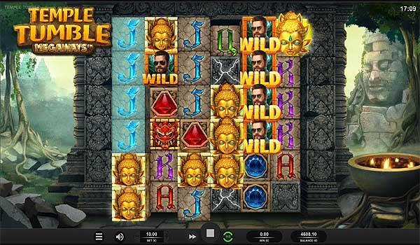 Main Gratis Slot Indonesia - Temple Tumble Megaways (Relax Gaming)