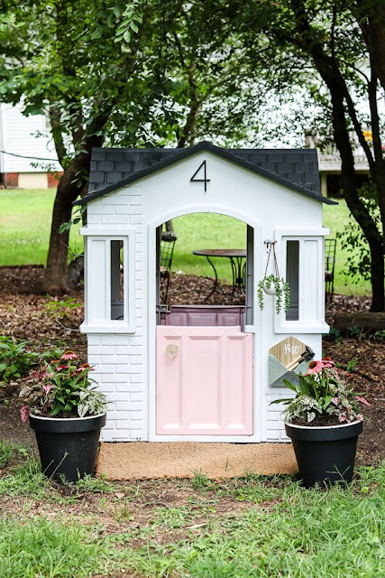 Little Tykes Playhouse Makeover