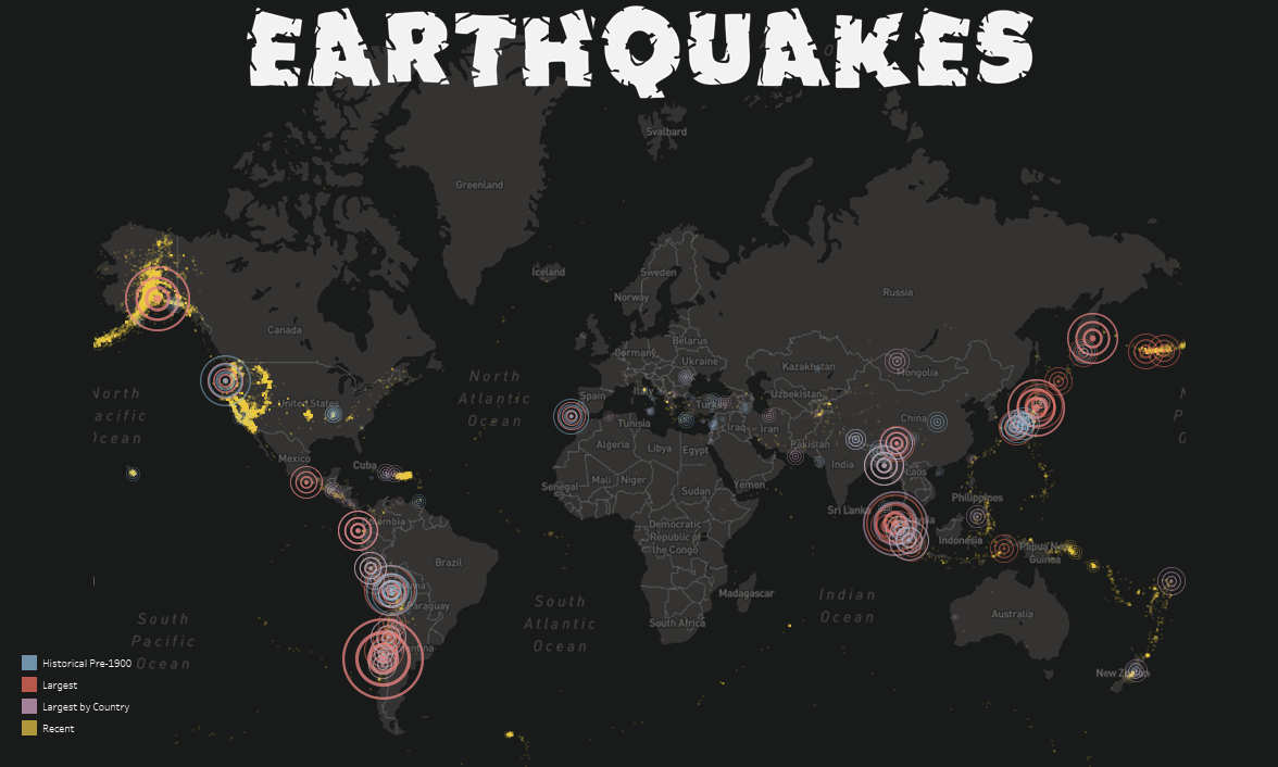 Visualizing Earthquakes - Ken Flerlage: Analytics