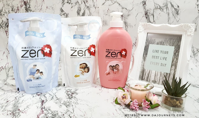 Review #ZENAntiBacterial Body Wash