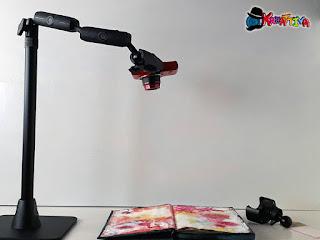 supporto con macchina fotografica per foto dall'alto