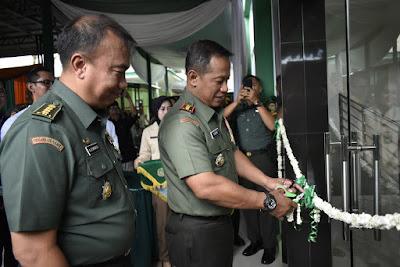 Danrem 043/Gatam Resmikan Ruang Perawatan Super VVIP Rumah Sakit DKT Bandar Lampung