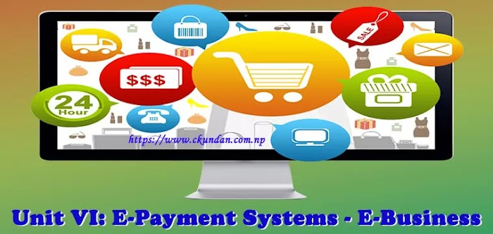 Unit VI: E-Payment Systems - E-Business