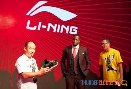 Li-Ning, Chinese Brand of Attention at the Asian Games