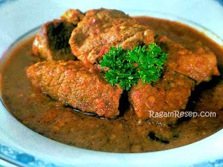 Resep Dan Cara Membuat Pangek Daging