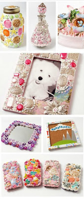 Mod Podge Collage Clay Projects