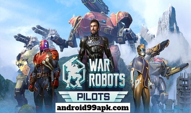 لعبة War Robots v6.2.2 مهكرة كاملة (بحجم 577 MB) للأندرويد