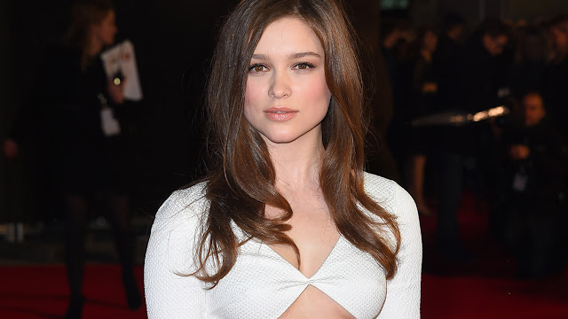 Infinite Film Actress Sophie Cookson Hot Photos in White Dress Actress Trend