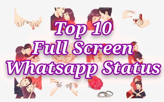 Latest फुल स्क्रीन व्हाट्सएप स्टेटस- StatusClub.in [ Full Screen Whatsapp Status Download ]
