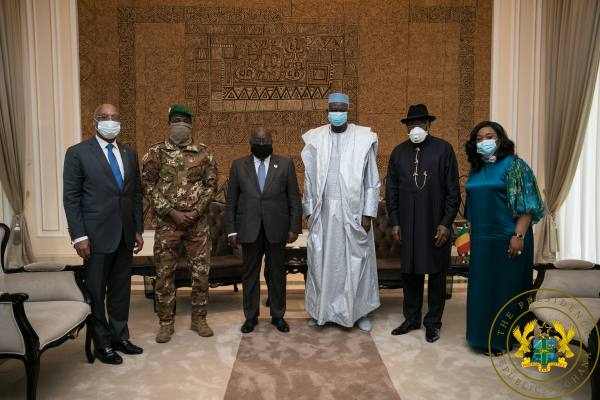"""Thank You"" – Mali's Interim President To President Akufo-Addo"