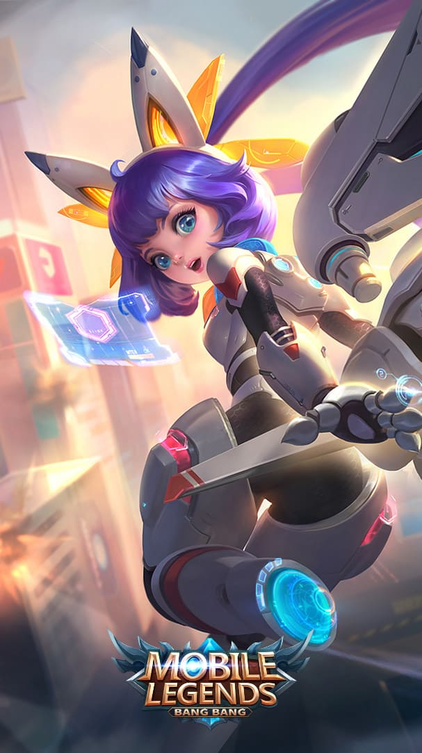 Wallpaper Nana Mecha Baby Skin Mobile Legends HD for Android and iOS