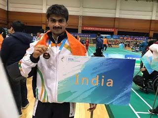 #JaunpurLive : तोक्यो पैरालिंपिक में देश का प्रतिनिधित्व करेंगे जौनपुर के पूर्व डीएम सुहास एलवाई