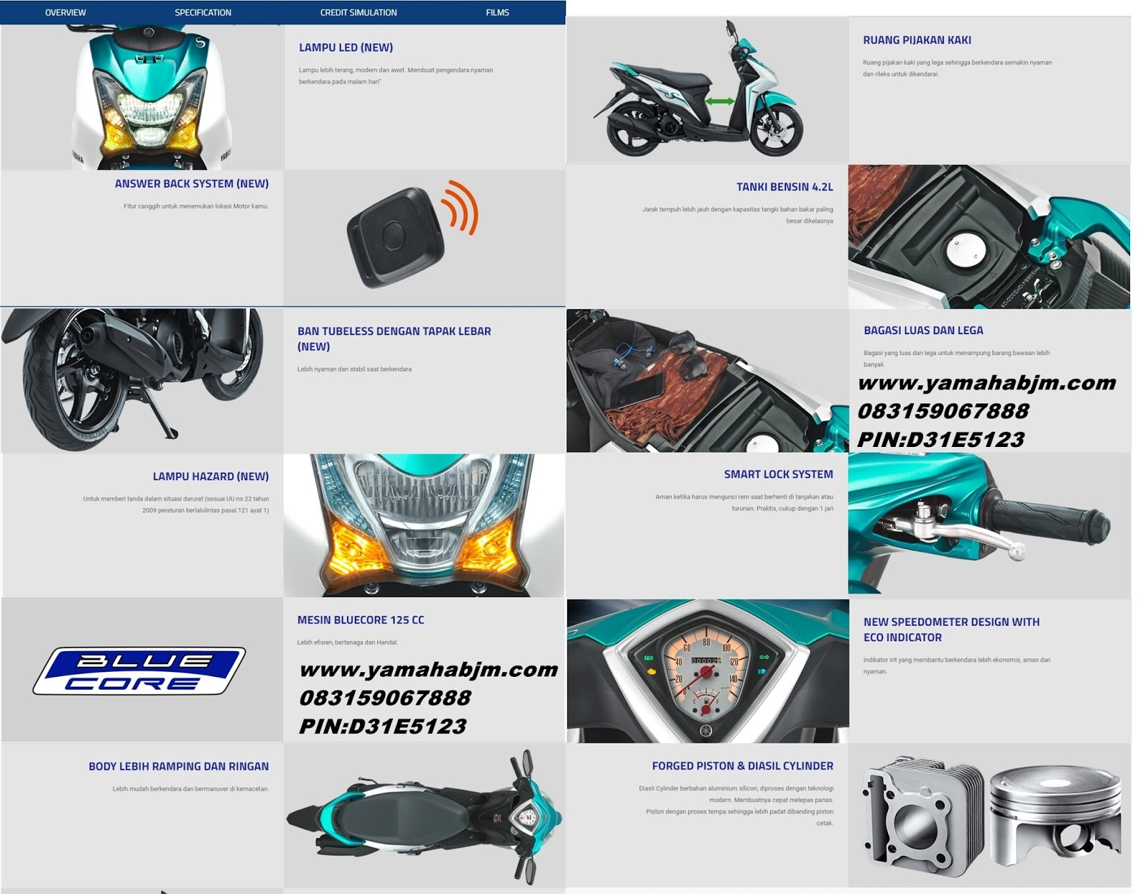 Harga Yamaha Mio S 125 Blue Core Dan Dealer Paling Murah New Fino Premium Diposting 27th October 2017 Oleh Resmi Sales Sevice Spare Part Variasi Motor Label