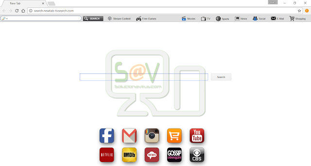 "Search.newtab-tvsearch.com (""NewTabTV(Media)"" extension, powered by Imali Media)"