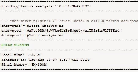 Michael Remijan: AES Encryption between Java and C#