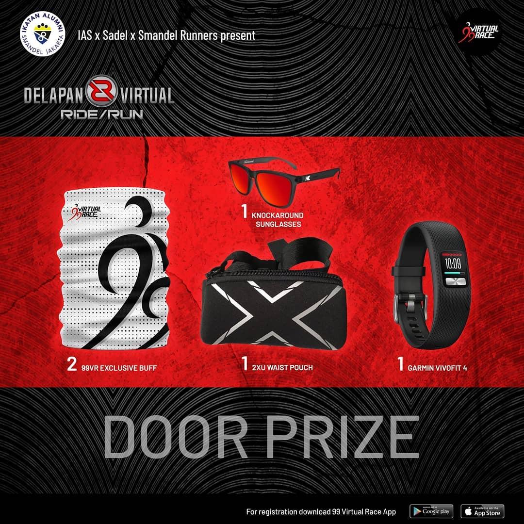 Doorprize - Delapan Virtual Ride/Run • 2021