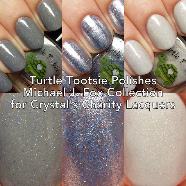 Turtle Tootsie Polishes Michael J. Fox Collection for Crystal's Charity Lacquers