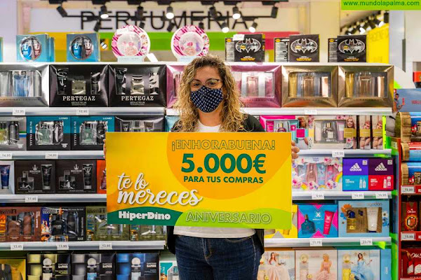 El gran premio final del aniversario de HiperDino recae en La Palma