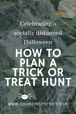 A socially distanced halloween for covid 19, how to plan a trick or treat hunt