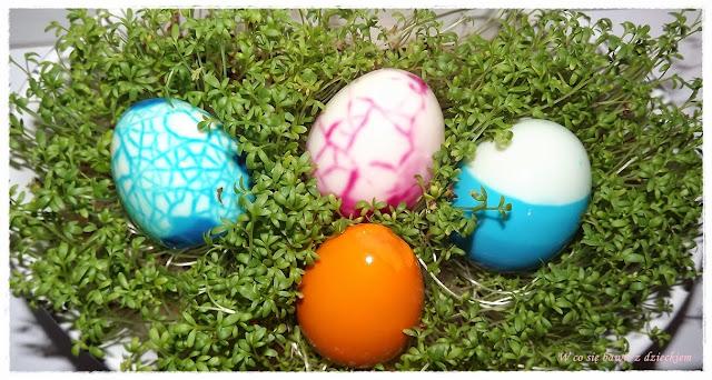 barwienie jaj