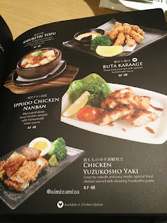 Menu dan Harga Ippudo Ramen (Restoran Jepang) Central Park
