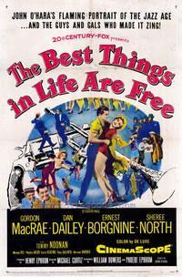 Another old movie blog the best things in life are free 1956 songs like button up your overcoat this is my lucky day good news black bottom and of course the best things in life are free fandeluxe Choice Image