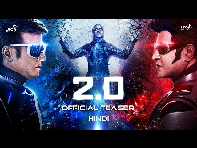2.0 - Official Teaser [Hindi] | Rajinikanth 29 November 2018 LifeStory