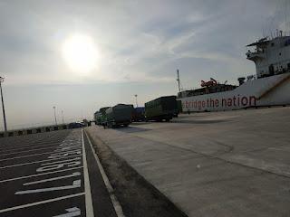 KSOP Patimban Siap Melayani Kapal- Kapal Trayek Pelabuhan Patimban - Belawan