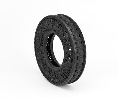 Cool and Creative Hand Carved Car Tires (15) 15