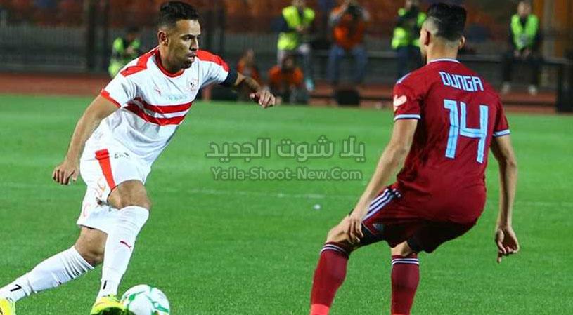 فوز ابيض الزمالك يفوز على بيراميدز في قمة الجولة السابعه من الدوري المصري