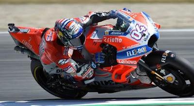 Hasil Kualifikasi MotoGP Ceko: Dovizioso, Rossi Marquez