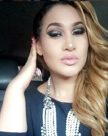 Omg! You Won't Believe What Actress Caroline Danjuma Said to a Fan Who Insulted Her Husband