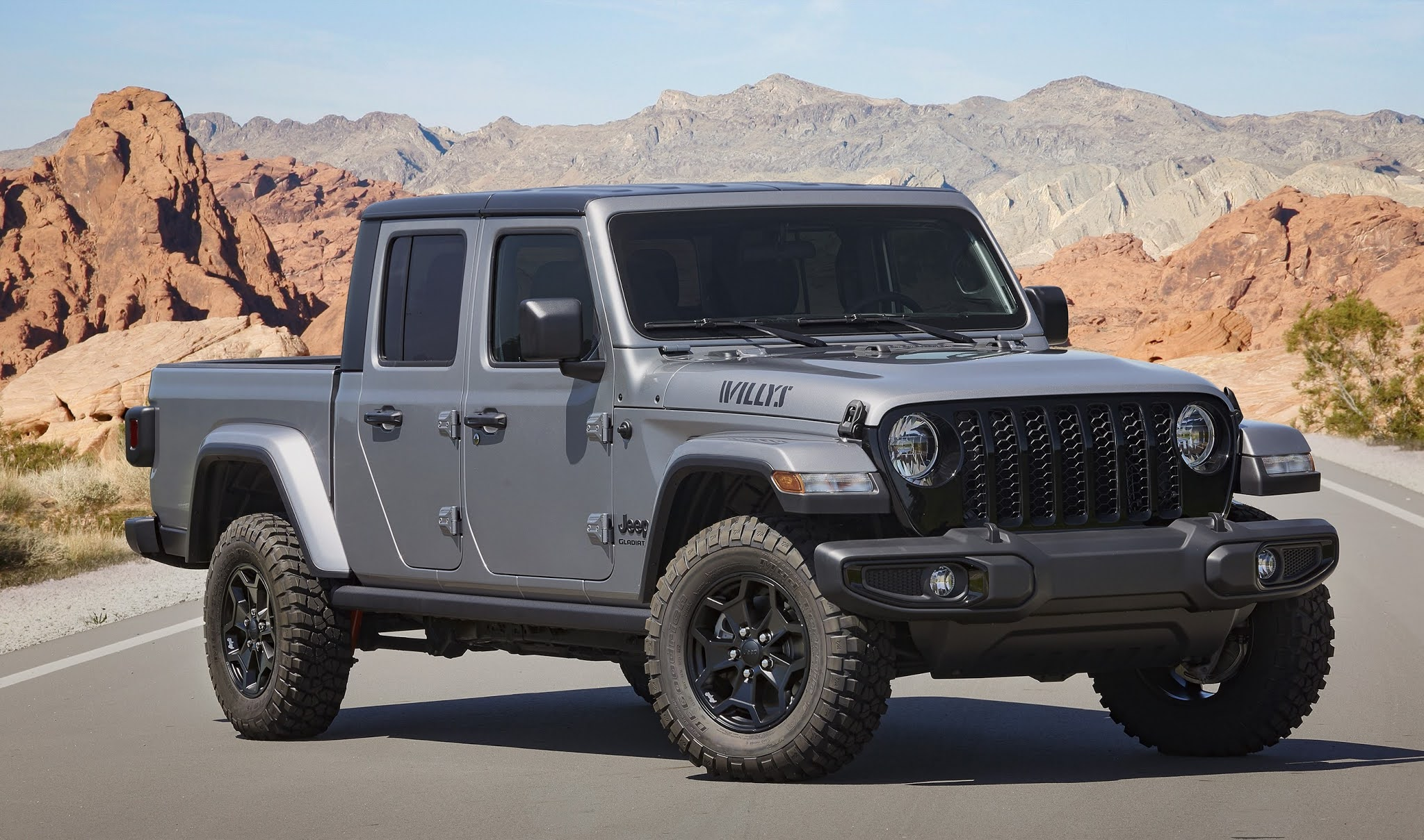 2021 Jeep Gladiator Willys Debuts With Unique Content and Increased Capability