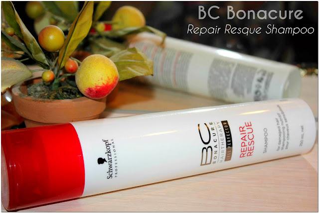 Отзыв: Шампунь Спасительное Восстановление для поврежденных волос - Schwarzkopf Professional BC Bonacure Repair Rescue Shampoo.