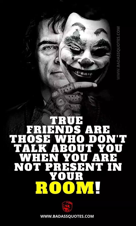 Joker Quotes on Friendship