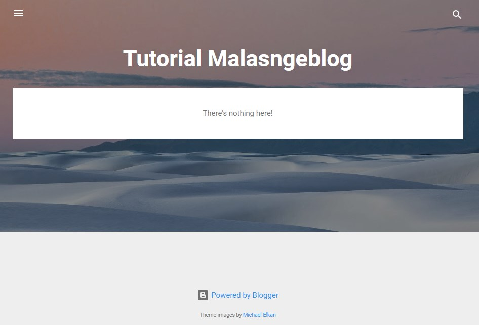 Tutorial Blogger,blog terbaru