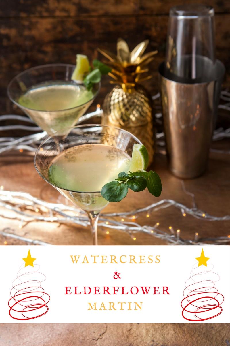 Watercress And Elderflower Martin