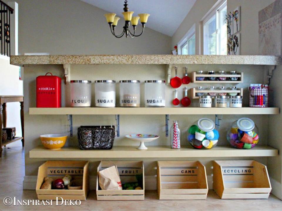 Susunan Barangan Dapur Desainrumahid