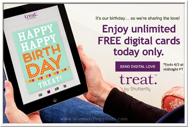 Unlimited Free Digital Cards from Treat