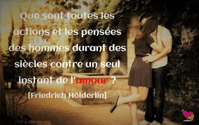 Friedrich Hölderlin dans une citation d'amour