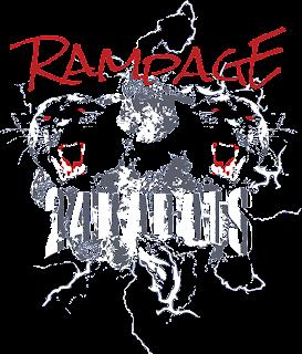THE RAMPAGE と 24karts のコラボ再現ロゴ 2トーンカラー