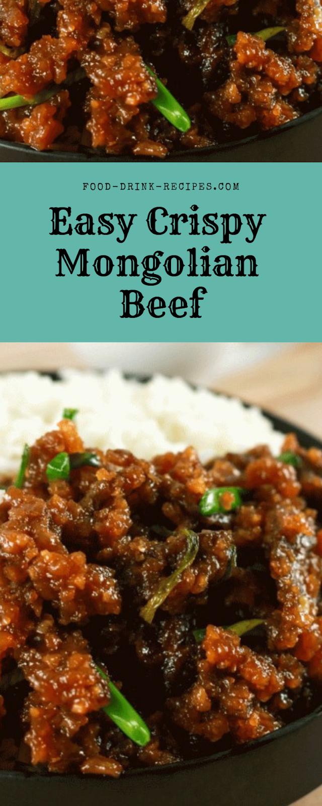 Easy Crispy Mongolian Beef  - food-drink-recipes.com