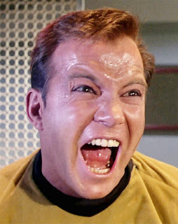 Captain Kirk enraged