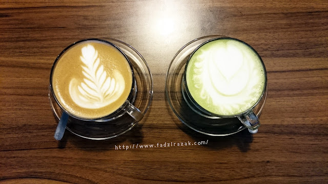 Caffe Latte Green Tea