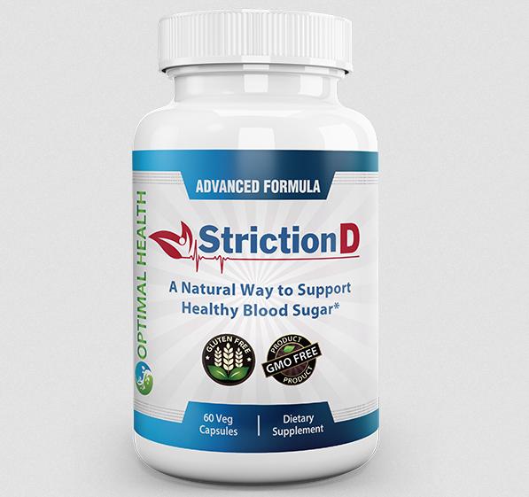 StrictionD – Blood Sugar Support