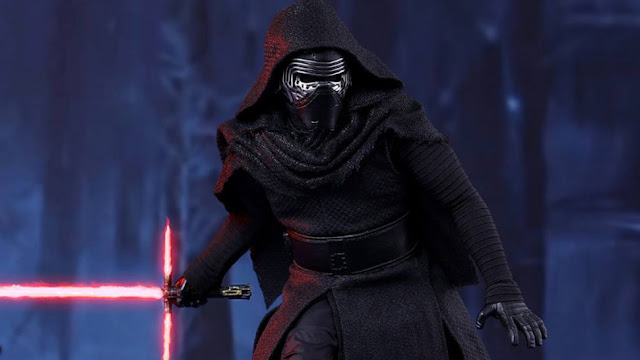 Adam Driver as Kylo Ren in Star Wars: The Force Awakens, Directed by J.J. Abrams