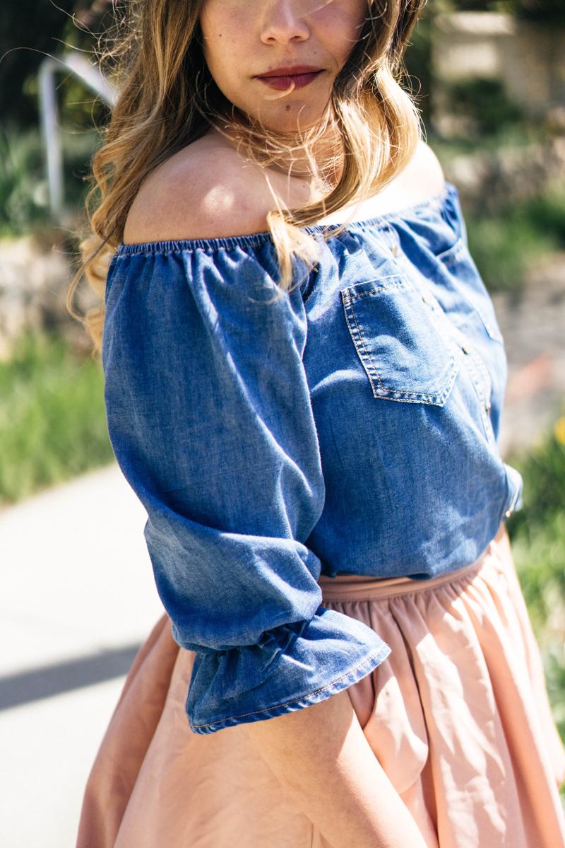 denim, beauty blogger, influencer