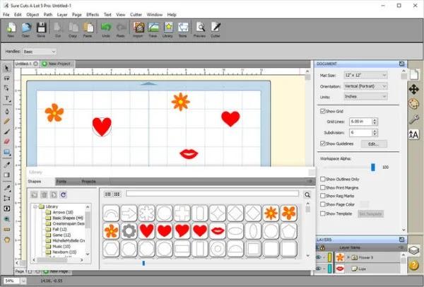 تحميل برنامج Sure Cuts A Lot Pro 5.050 لقص أي أشكال وخطوط وصور وملفات SVG